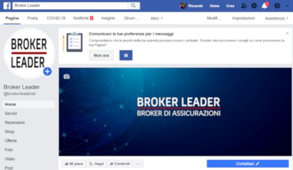 MQL Web Agency Social Portfolio Brokerleader