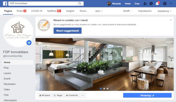 MQL Web Agency Social Portfolio Fdp Immobiliare