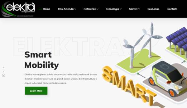 Mql Web Agency Portfolio Elektra Gruppo Arkon