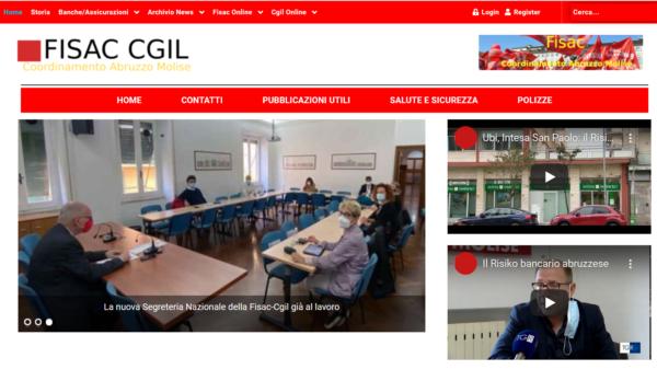 MQL Web Agency Portfolio Fisac Abruzzo Molise